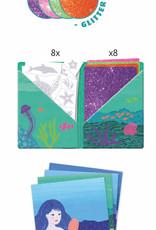 Djeco Artistic Patch: Ocean Glitter