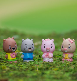 Fat Brain Toy Co Timber Tots: Chip Chip Family (set of 4)