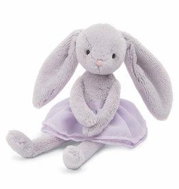 "Jellycat Arabesque Lilac Bunny 8"""