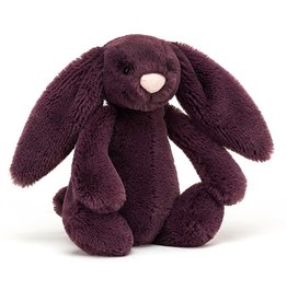 Jellycat Bashful Plum Bunny: Small 7""
