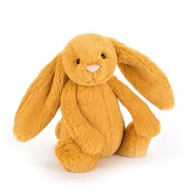 "Jellycat Bashful Saffron Bunny: Small 7"""