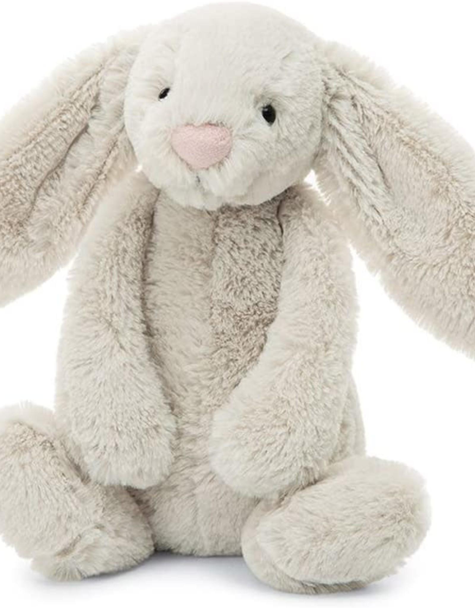 "Jellycat Bashful Oatmeal Bunny: Large 15"""