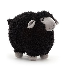 Jellycat Rolbie  Black Sheep: Small 8""