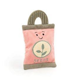 Jellycat Whimsy Garden Seed Packet Rattle 4""