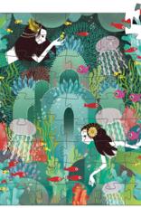 Djeco 54pc Silhouette: Aquatic Paradise