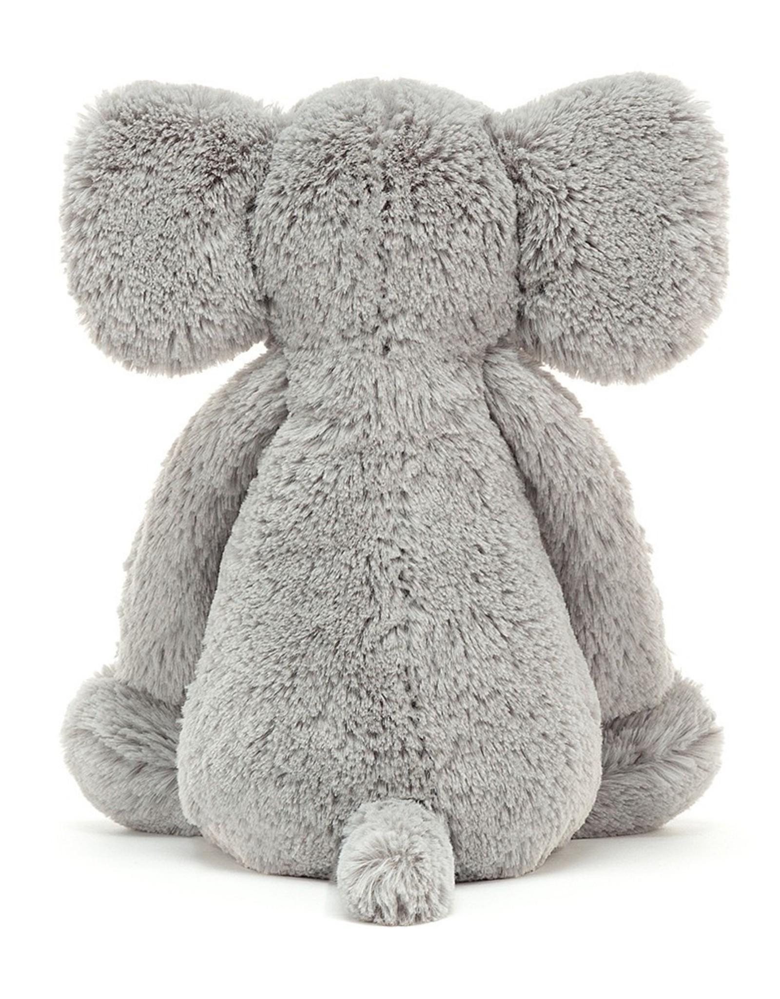 "Jellycat Bashful Grey Elephant: Huge 21"""