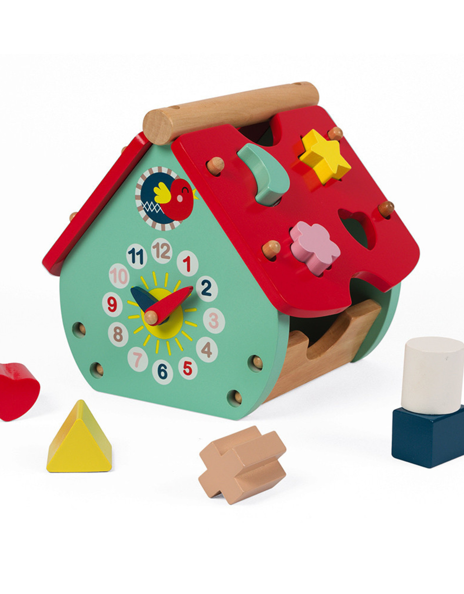 Janod Baby Forest-House Shape Sorter