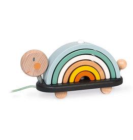 Janod Sweet Cocoon Rainbow Turtle