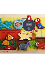 Janod Chunky Puzzle: Animo'