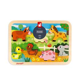 Janod Chunky Puzzle: Farm