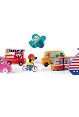 Janod Chunky Puzzle: Vehicles