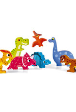 Janod Chunky Puzzle: Dinosaurs