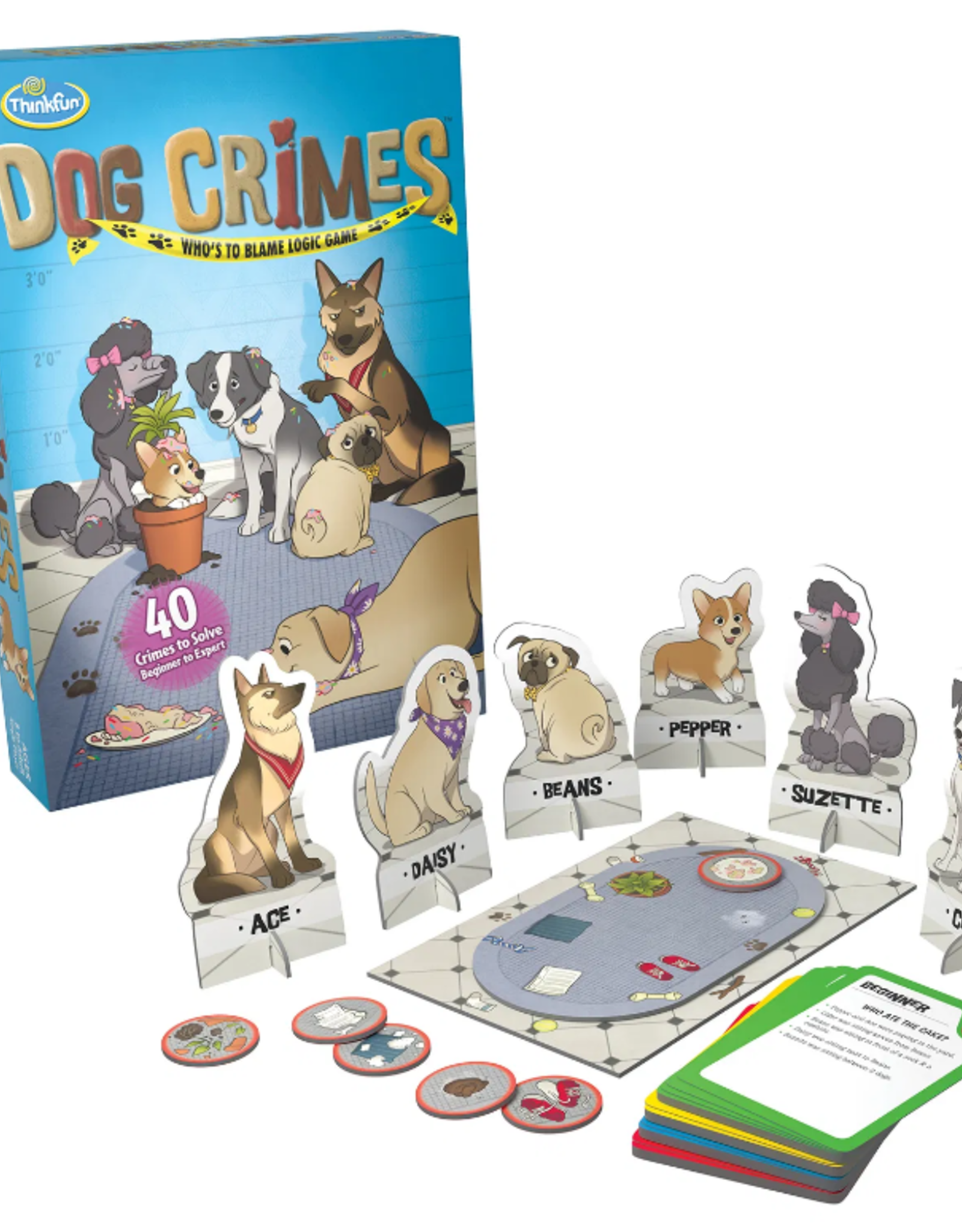 Think Fun Dog Crimes