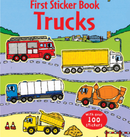 EDC Publishing First Sticker Book: Trucks
