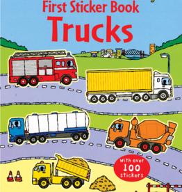 EDC Publishing First Sticker Book: Trucks