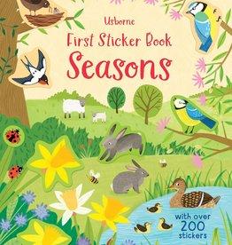 EDC Publishing First Sticker Book: Seasons
