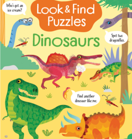 EDC Publishing Look & Find Puzzles: Dinosaurs