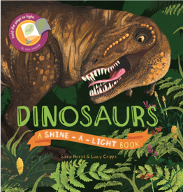 EDC Publishing Shine-A-Light, Dinosaurs