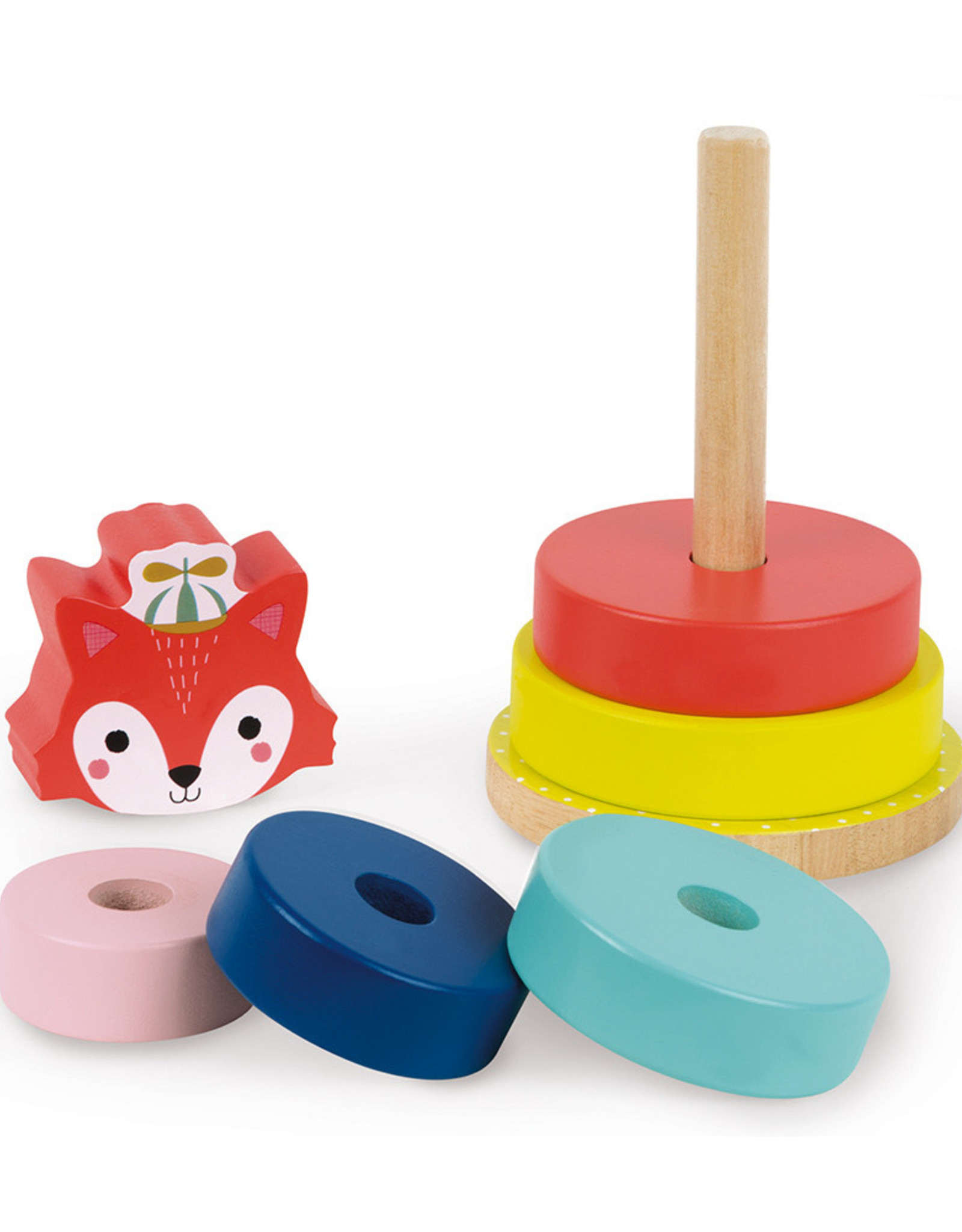 Janod Baby Forest-Fox Stacker