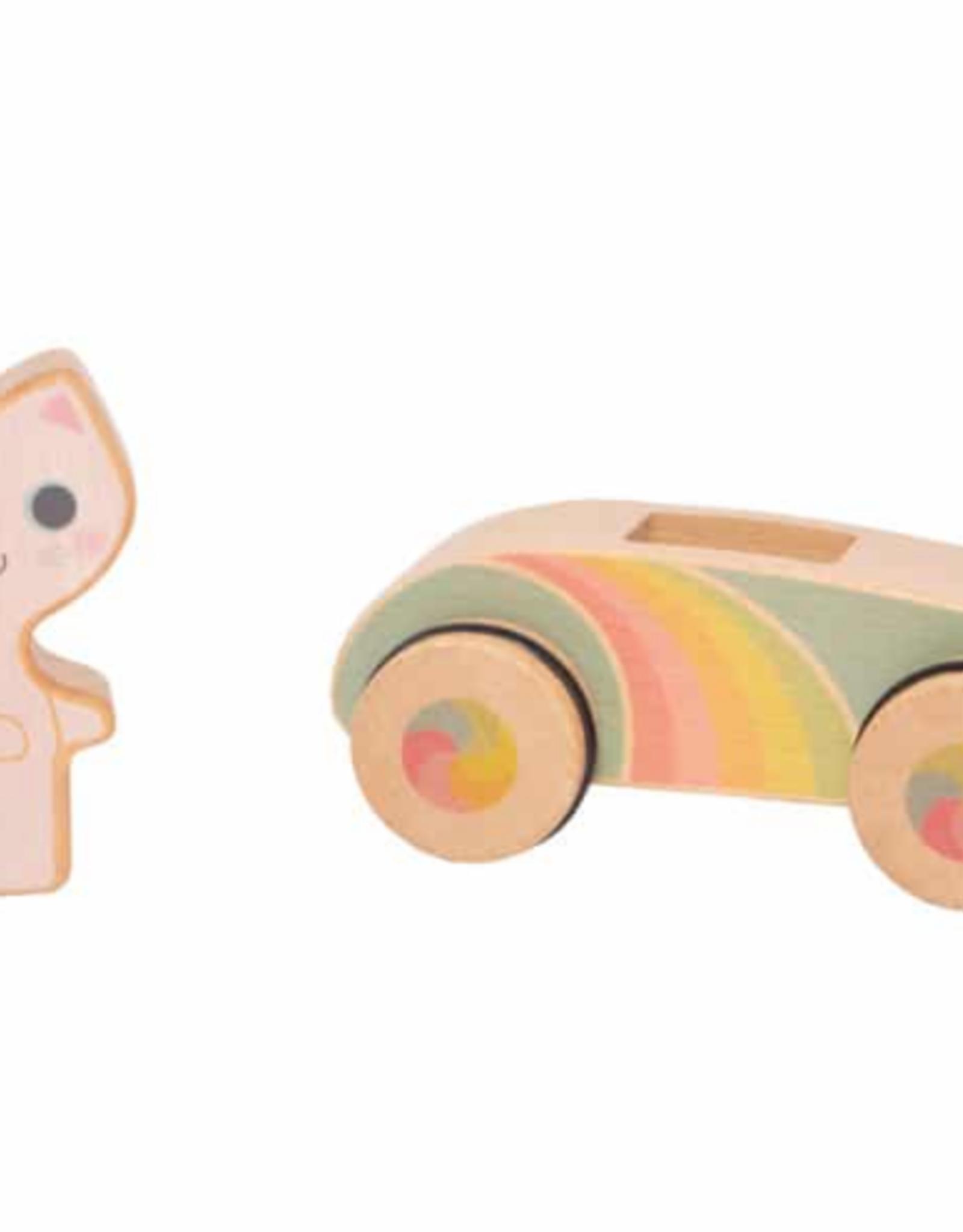 Schylling Rainbow Roller: Crusin Kitty