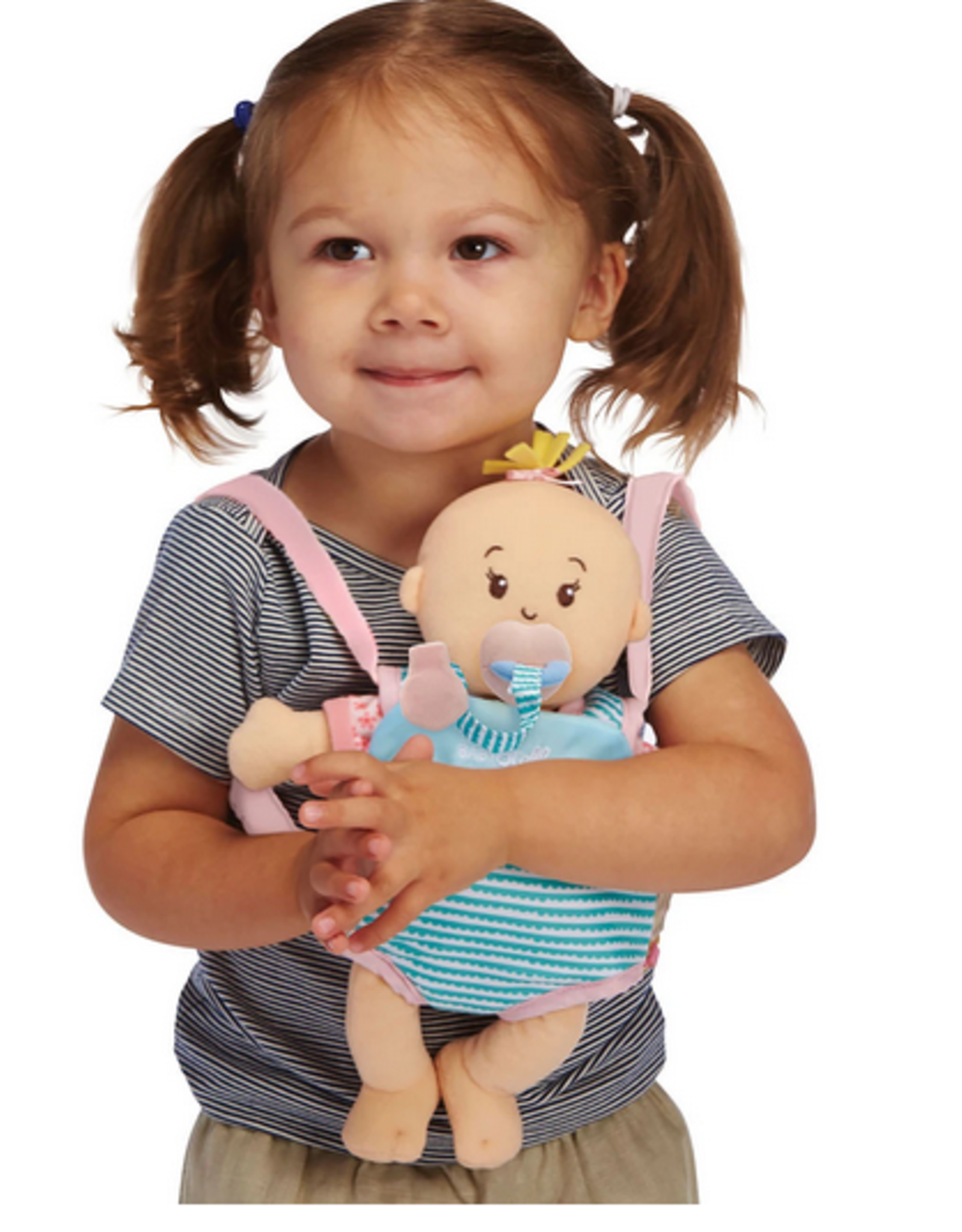 The Manhattan Toy Company Wee Baby Stella Travel Time Carrier Set