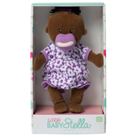 The Manhattan Toy Company Wee Baby Stella Doll Brown