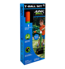 Little Kids Junk Ball: T- Ball Set