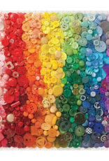 Chronicle Books 500 pc Puzzle: Rainbow Buttons