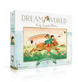 New York Puzzle Company 200pc puzzle: Jackalope Day Dream
