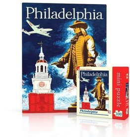 New York Puzzle Company 100pc puzzle: Philadelphia Mini
