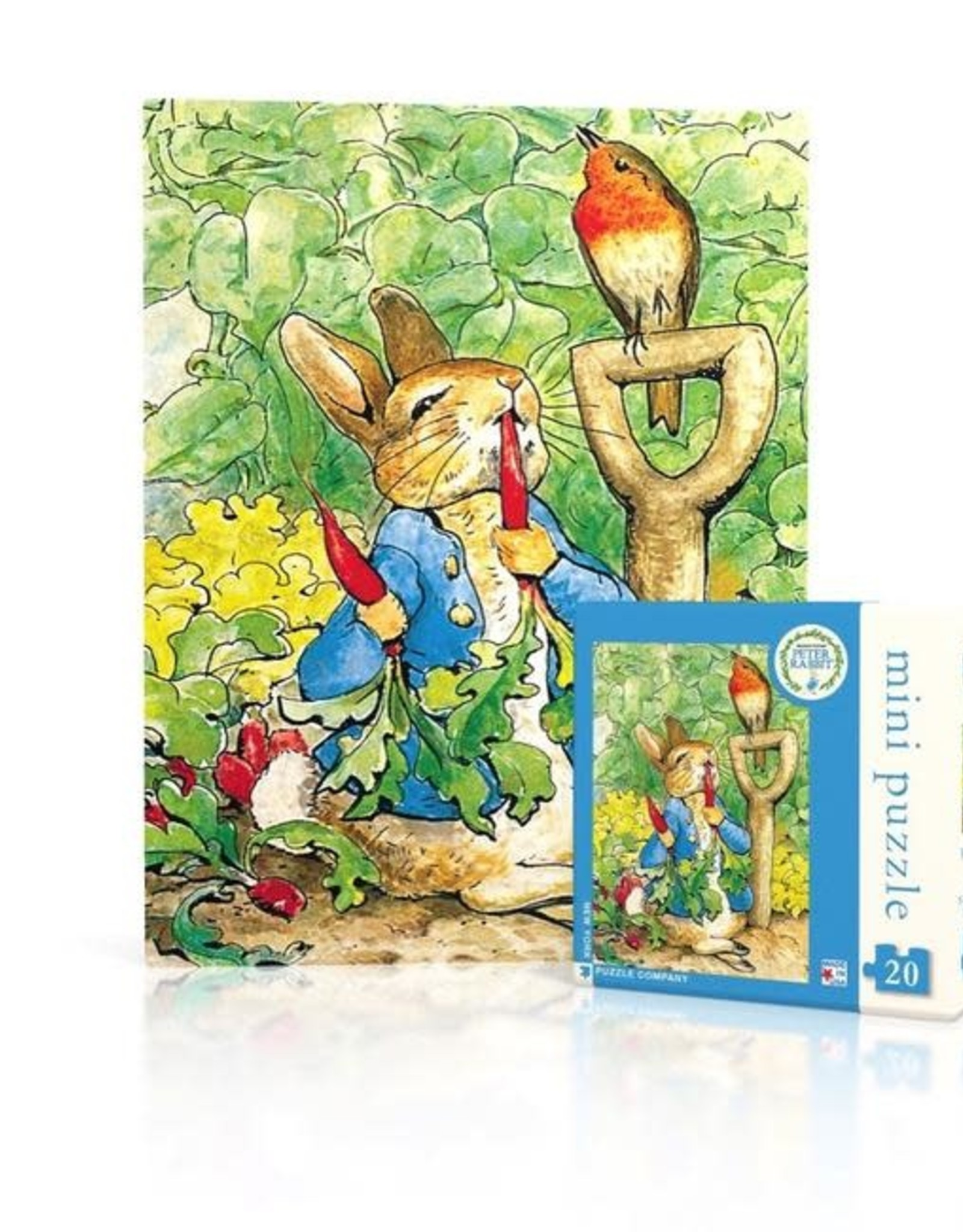 New York Puzzle Company 20 pc Puzzle: Peter Rabbit Mini