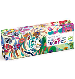 Djeco 1000pc Puzzle: Rainbow Tiger