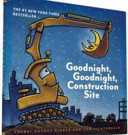 Chronicle Books GOODNIGHT, GOODNIGHT, CONSTRUCT HC