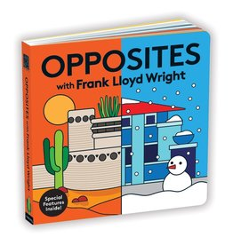Chronicle Books Opposites with Frank Lloyd Wright
