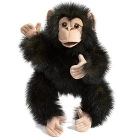 Folkmanis Puppet: Baby Chimpanzee