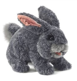 Folkmanis Puppet: Gray Bunny Rabbit