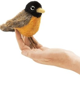 Folkmanis Finger Puppet: Robin