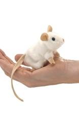 Folkmanis Finger Puppet: White Mouse