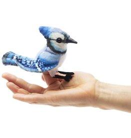 Folkmanis Finger Puppet: Blue Jay