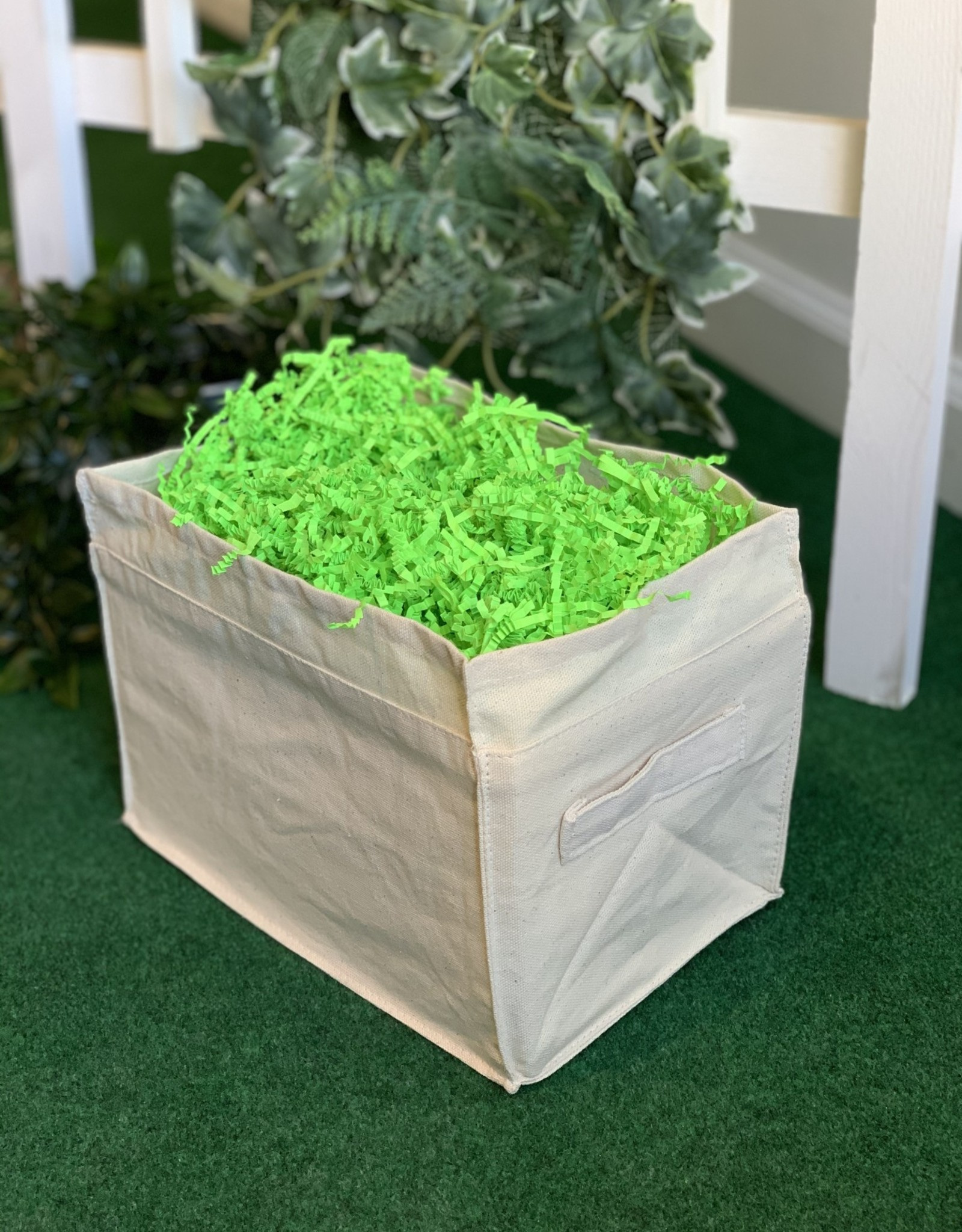 Gift Basket wrapping-Canvas Basket