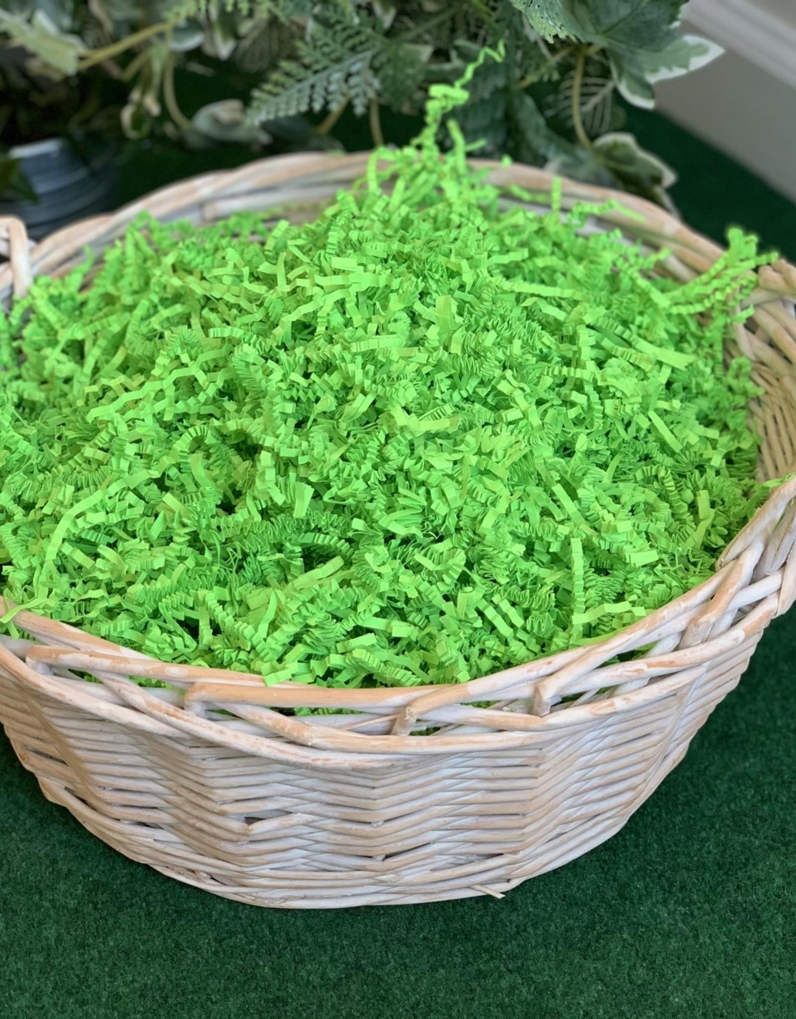 Gift Basket wrapping: White Willow Basket