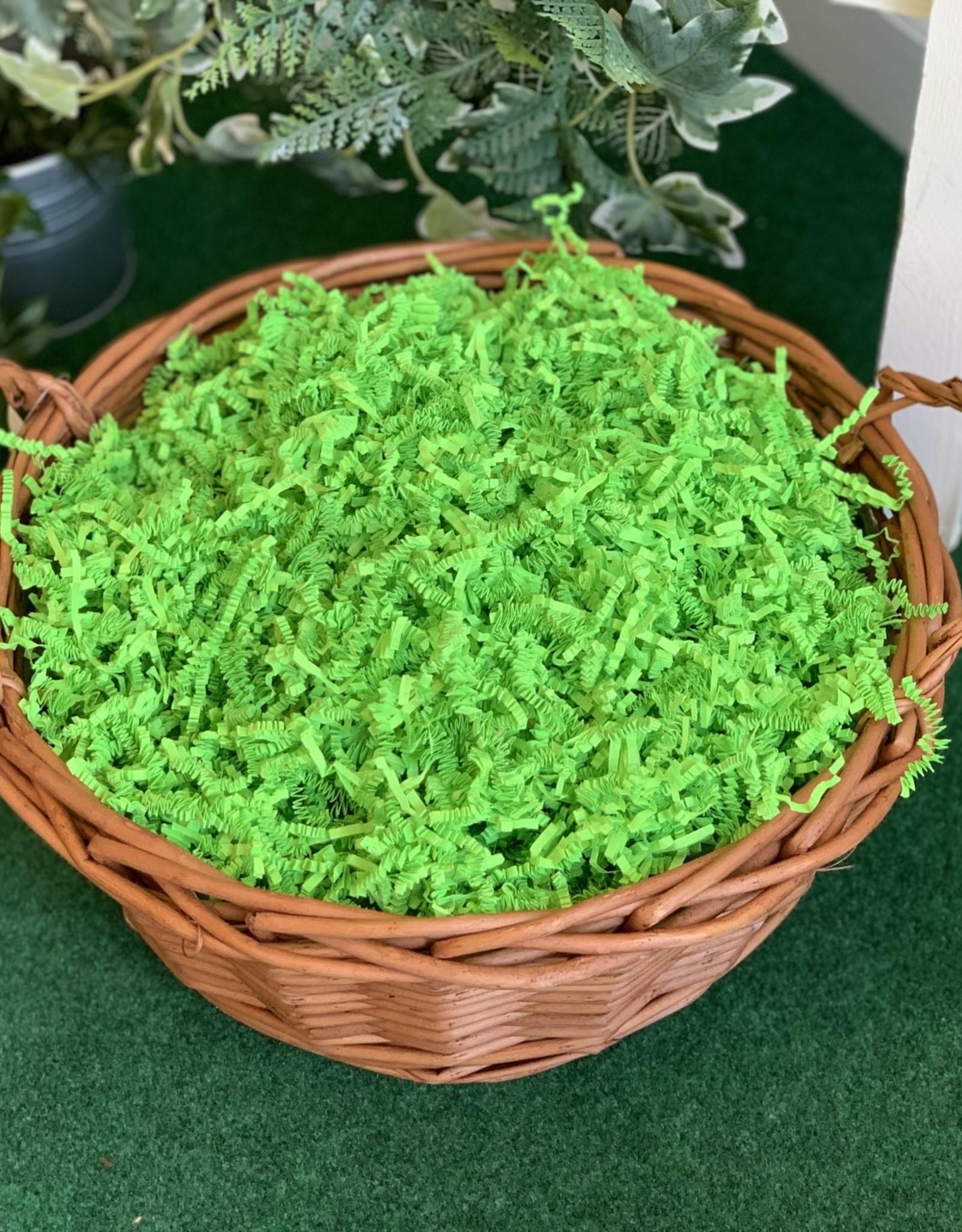 Gift Basket wrapping: Medium tone Willow Basket