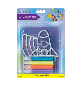 Faber-Castell Window Art: Outer Space