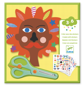 Djeco Sticker Kits: Hairdresser