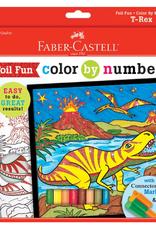 Faber-Castell Color By NumberT-Rex Foil Fun