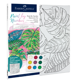 Faber-Castell Watercolor Paint by Number: Tropical