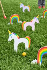 Hearthsong Unicorn Croquet Set