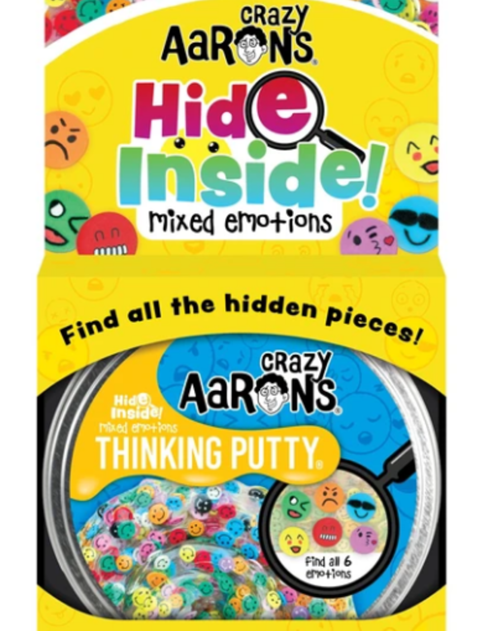 """Crazy Aaron's Putty World Hide Inside 4"""": Mixed Emotions"""