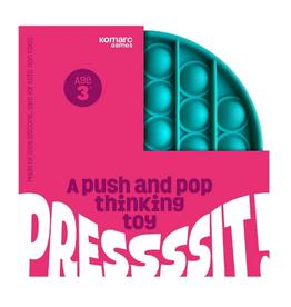 Komarc Push and Pop Thinking Toy, Circle