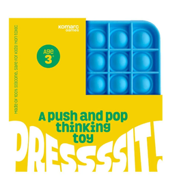 Komarc Push and Pop Thinking Toy, Square